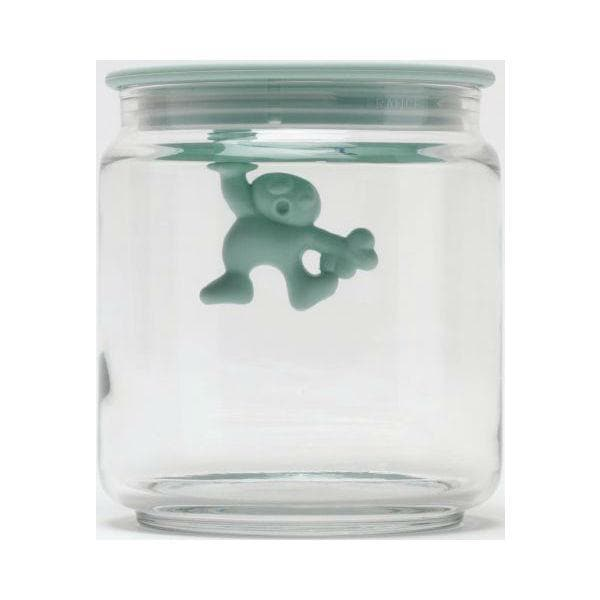 A di Alessi Gianni a little man holding on tight Jar ALE AMDR04MS mint