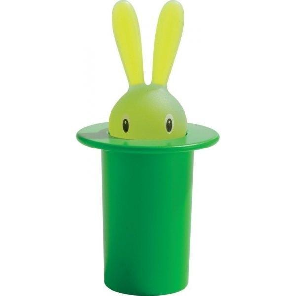 A di Alessi Magic Bunny Toothpick holder ALE ASG16GR green