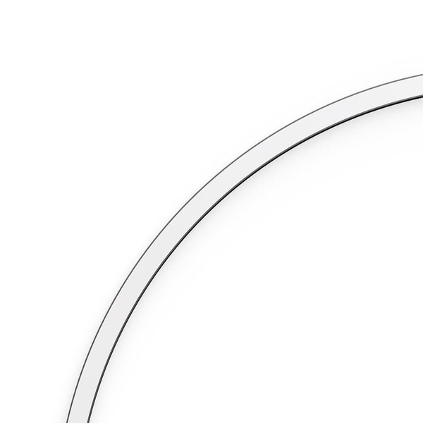 Artemide Architectural A.24 Curved Elements α = 45° r=750mm AR AQ52701 White