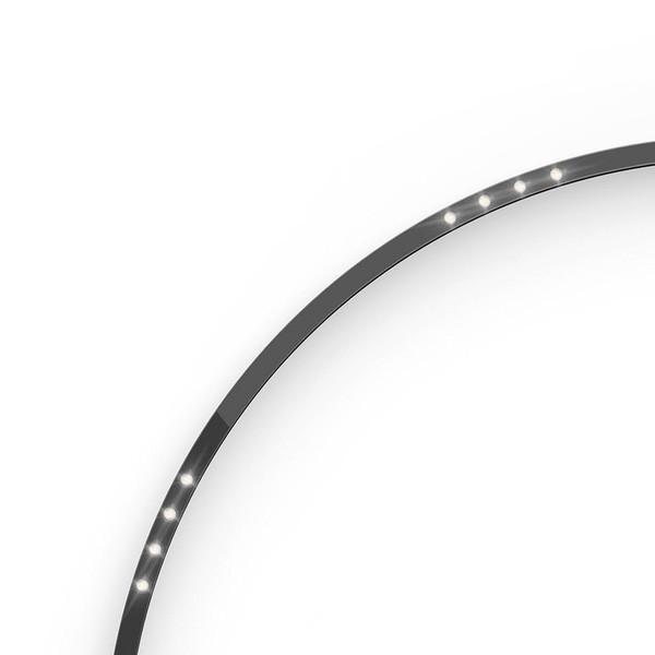 Artemide Architectural A.24 Curved Elements α = 90° F62° AR AQ51604 Black