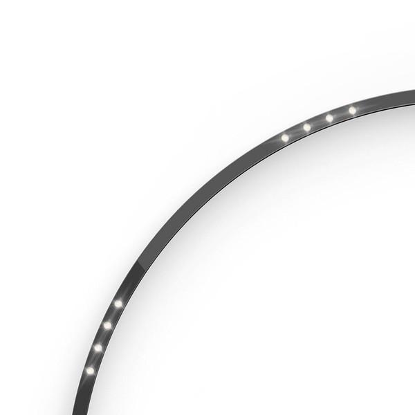 Artemide Architectural A.24 Curved Elements α = 90° F62° AR AQ53604 Black