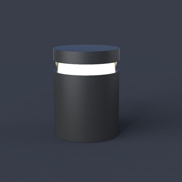 Bega Bollards All-side light output 360° BE 99577AK4 Silver