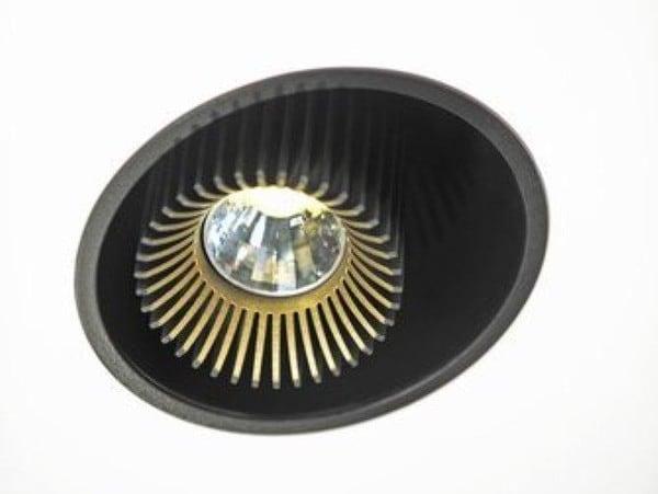 Dark Coolfin box1 R recessed LED 25W 40°700K 700mA  DA 83202250274001 Black / Black