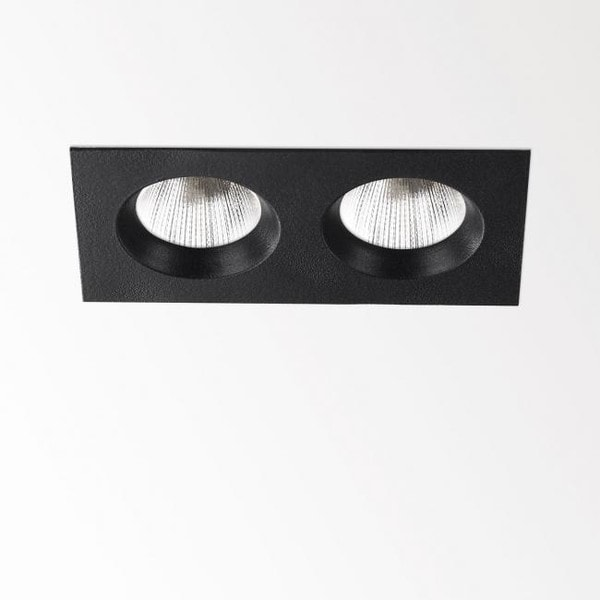 Delta Light En-Suite 2S CRI>80 DL 263198210B Black