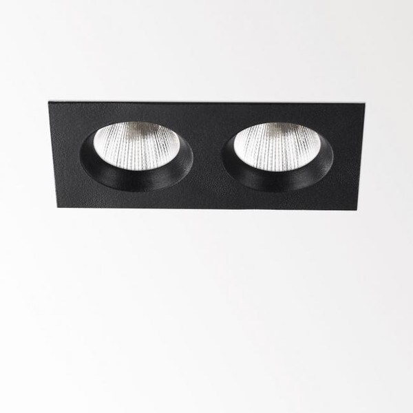Delta Light En-Suite 2S CRI>90 DL 263199230B Black
