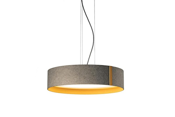 Domus Lara felt DO 1997.LED.14 Grey / Orange