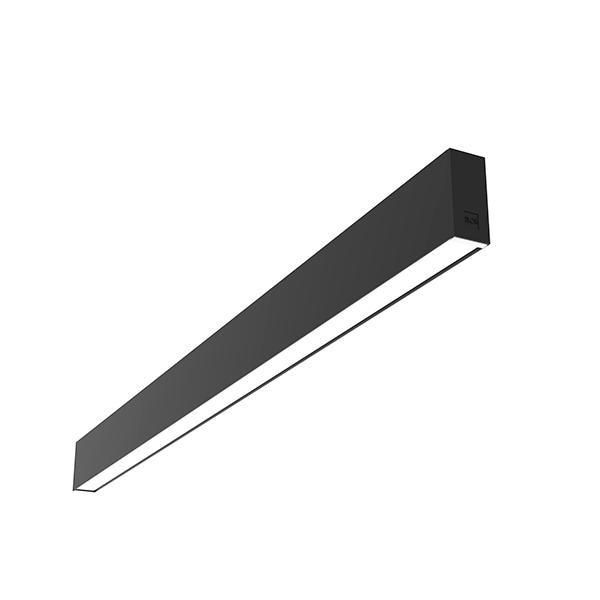 Flos Architectural In-Finity 35 Surface Micro-Prismatic Diffuser Dali AN N35S304U14BDA Black