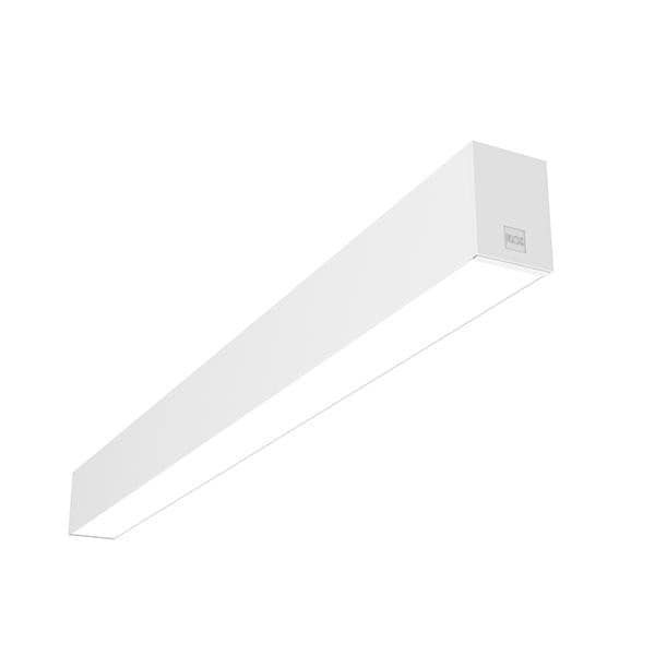Flos Architectural In-Finity 70 Recessed No Trim Micro-Prismatic Diffuser AN N70N253U30B White