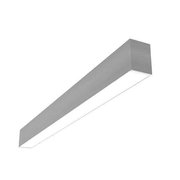 Flos Architectural In-Finity 70 Surface Micro-Prismatic Diffuser AN N70S193U02B Silver