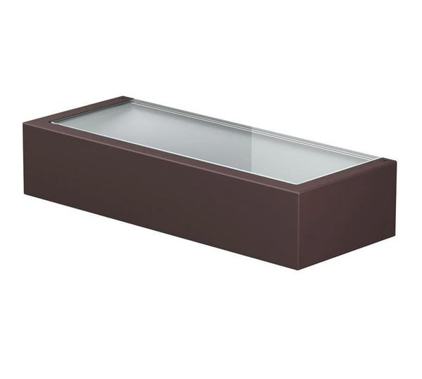 Flos Mile Wall 2 Washer Up FL F015E31A018 Deep brown