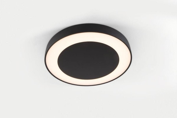 Modular Lighting Flat Moon Eclips 650 Ceiling Down LED Dali/pushdim GI MO 13362432 Black structured