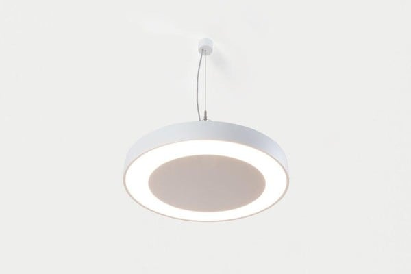 Modular Lighting Flat Moon Eclips 650 Suspension Down LED 1-10V GI MO 13372109 White structured