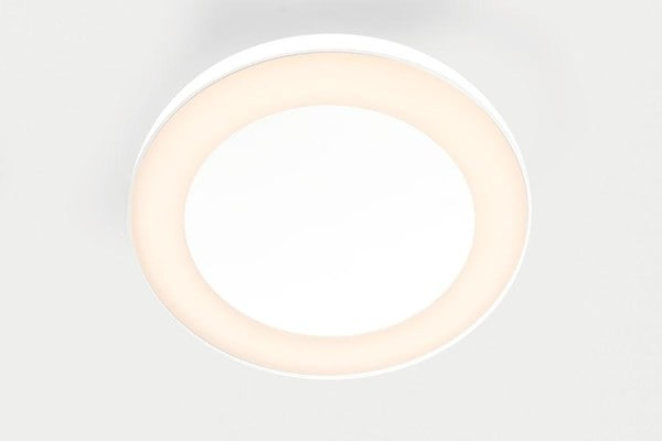 Modular Lighting Flat Moon Eclips 950 Ceiling Down LED 1-10V GI MO 13363209 White structured