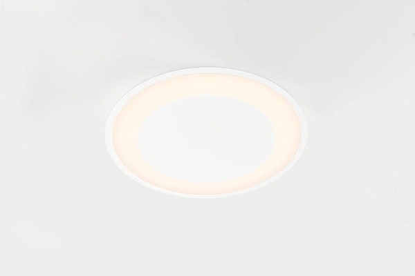 Modular Lighting Flat Moon Eclips 970 Recessed LED Dali/pushdim GI MO 13383509 White structured