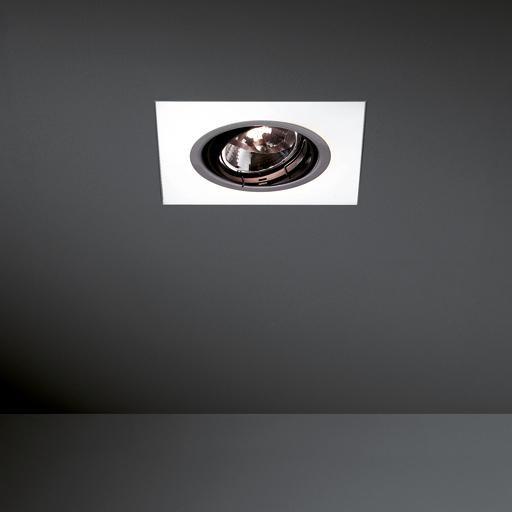 Modular Lighting Flush Dynamix 1x TL5C + 1x AR111 MO 10900101 Opal