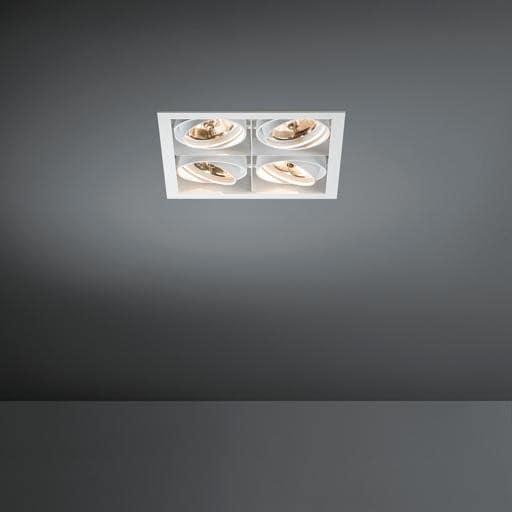Modular Lighting Mini Multiple 4x AR70 MO 10370409 White structured