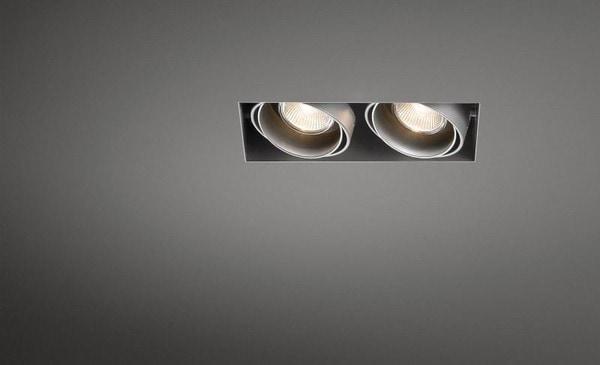 Modular Lighting Mini Multiple Trimless 2x MR16 MO 10380805 Aluminium