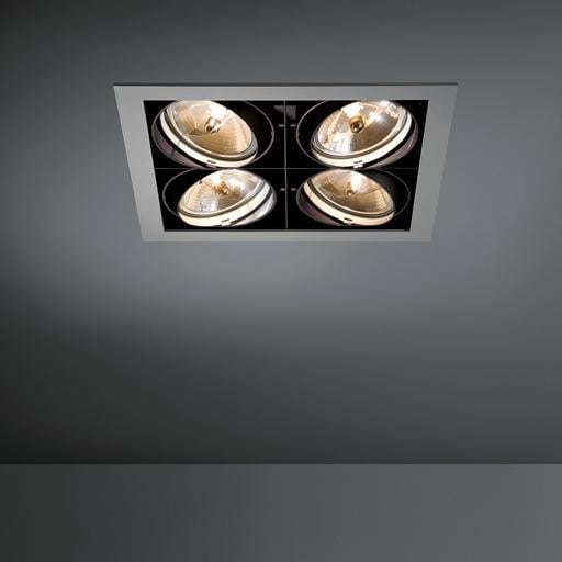 Modular Lighting Multiple 4x AR111 MO 10350409 White structured