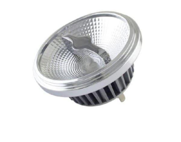 Perluci Light source LED G53 (AR111) 15W 350mA 700lm dim SE PLC-50717 Silver