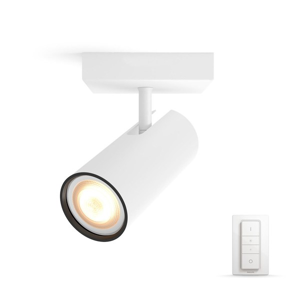 Philips Hue Buratto White Ambiance Spotlight (dimmer incl.) MA 5046131P7 White