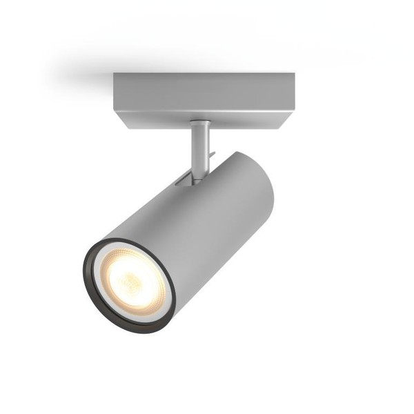 Philips Hue Buratto White Ambiance Spotlight (extension) (dimmer excl.) MA 5046148P8 Aluminium