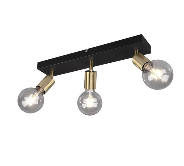 Reality Vannes Spot 3 TR R80183008 Matted brass