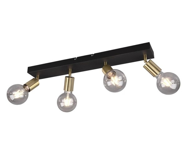 Reality Vannes Spot 4 TR R80184008 Matted brass