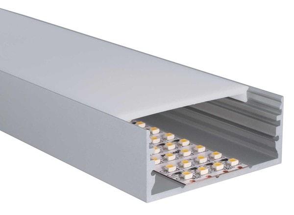 Uni-Bright Profiles L-Line Low UB L69F00L Anodised aluminium