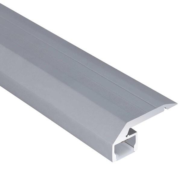 Uni-Bright Profiles S-Line Step Stair step profile UB L699000 Anodised aluminium